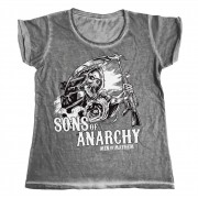Sons Of Anarchy - SOA AK Reaper Urban Girly Tee