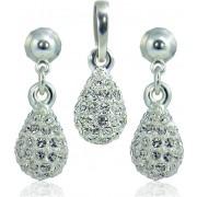 MHM Set de bijuterii Picătură M4 Crystal 3401
