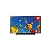 TV LED 40 40R355B Sony, Full HD HDMI USB com Conversor Digital