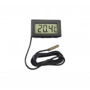 Termometro Digital Mini De Panel Gralf Tgf-297 -50/70 Grados