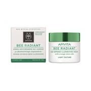 Bee radiant creme iluminador para pele mista a oleosa 50ml - Apivita