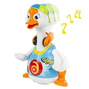 Happy GiftMart Intelligent Hip Pop Dance Read Tell Story Interactive Swing Goose Musical Educational Baby Duck Toys Gifts Non Toxic