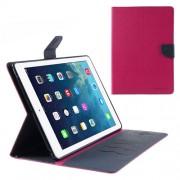 Korean Mercury Fancy Diary Case for iPad Air 2 - Hot Pink