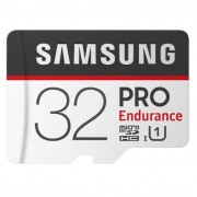 Samsung 32GB PRO Endurance microSDHC UHS-I CL10 memóriakártya + Adapter