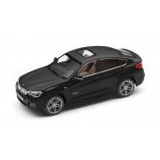Miniatura BMW X4 F26 1:43 Sapphire Black