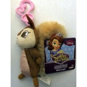 Disney Sofia the First Animal Friends Keychain Plus Whatnaught
