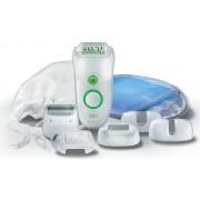 Braun Se 5780 New Epilatore A Rete 2 Velocità Colore Bianco / Verde - 5780 Silk-Épil Legs Body&face