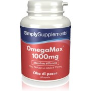 Simply Supplements OmegaMax 1000 mg - 60 Capsule