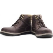 Clarks Malvern Ridge Boots For Men(Brown)