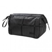 Jack Wolfskin Kulturbeutel Space Talent Washbag YD black big check