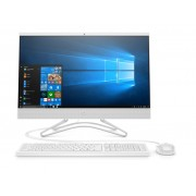 """HP 24-f0049ny AiO 23.8"""" FHD IPS/i5-9400T/8GB/256GB/UHD 630/DVD/Win 10 Home/White (8UF34EA)"""