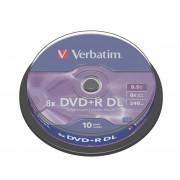 Verbatim DVDplusR 8X Dual Spind10 43666