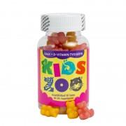 Kids Zoo Kalk + D Tyggedyr 60 st Vitaminpiller