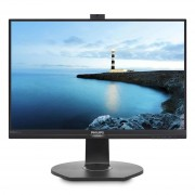 Philips 241B7QPJKEB Monitor IPS led 23.8 wide 5ms Softblue multimediale 0.27 Full HD nero vga dp hdmi usb