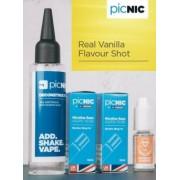 Lichid Tigara Electronica Premium Jac Vapour Real Vanilla 70ml, Nicotina 5,1mg/ml, 80%VG 20%PG, Fabricat in UK, Pachet DiY