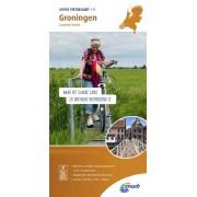 Fietskaart 01 Groningen - Lauwersmeer | ANWB Media