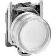 Buton luminos alb - - Butoane si lampi din metal Ø22 - Harmony xb4 - XB4BP183B5EX - Schneider Electric