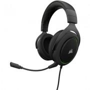 Геймърски слушалки Corsair HS50 Stereo Gaming Headset Green