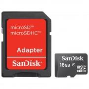 Memorija Micro SD 16GB SanDisk + SD adapter, Mobile, 66954 SDSDQM-016G-B35A