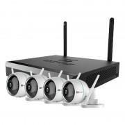 EZVIZ EZ-BW3424B0-E40 Kit de Videovigilancia Wifi con 4 Cámaras