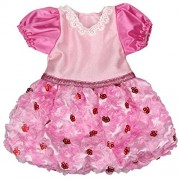AOFUL Baby Doll Pink Dress for 18 American Girl Dolls and More