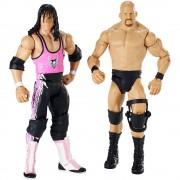 Pachet Figurine WWE Stone Cold vs Bret Hart