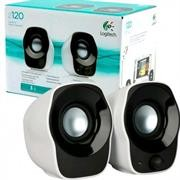 Logitech Z120 2.0 Stereo Speakers - 1.2 Watts