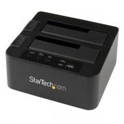 StarTech.com - Base USB 3.0 y eSATA Copiadora de Unidades de Disco SATA - Clonador Autónomo SATA de 6Gbps para Copi