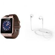 Zemini DZ09 Smart Watch and S6 Bluetooth Headsetfor LG OPTIMUS L5 II(DZ09 Smart Watch With 4G Sim Card Memory Card  S6 Bluetooth Headset)