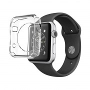 Husa de protectie Silicon Hoco Apple Watch 42mm - Transparent