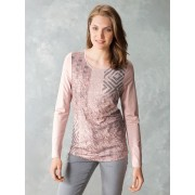 Walbusch Shirt Gentle Woman Braun 42