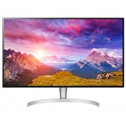 "LG 32UL950-W, 31.5"" 4K UHD (3840 x 2160) Nano IPS DCI-P3 98% AG, 5ms, 1300:1, Mega DFC, 450 cd/m2, VESA DisplayHDR 600, PBP, 1 HDMI, DP, Thunderbolt3, 5W x 2 Speaker, FreeSync, Tilt, Height Adjustable, Pivot, PBP, Headphone Out, Silver spray"