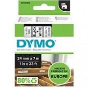 Dymo D1 Labelling Tape 53713 Black on White 24 mm x 7 m