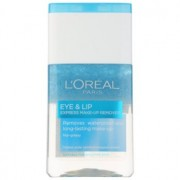 L'Oréal Paris Skin Perfection removedor de maquilhagem bifásico para contornos dos olhos e lábios 125 ml