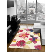 Tapis Kaleidoscope Blossom Tapis Moderne Par Brink And Campman Multicolore 170 X 230 Cm