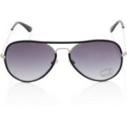 Fastrack Aviator Sunglasses(Black)