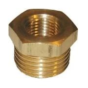 Messing fittings Metall Bussing G50xG40
