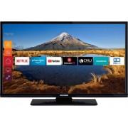 "Telefunken C32F545A LED-TV 81 cm 32 "" EEK A+ (A++ - E) DVB-T2, DVB-C, DVB-S, Full HD, Smart TV, WLAN, CI+ Svart"