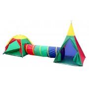 Charles Bentley 3 en 1 Charles Bentley enfants aventure Tepee Outdoor Indoor Play t...