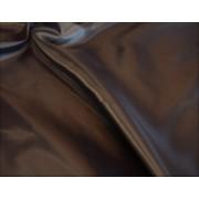 Sötétbarma poliészter bélésselyem - 150 cm széles