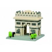 Puzzle 3d, 495 Pieces Nanoblock Arc De Triomphe Jigsaw Puzzle 3d