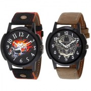 Evelyn Combo of 2 Men Watches EVE-382-384