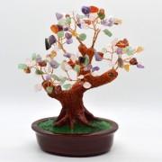 Copac in ghiveci cu pietre semipretioase mix - 20cm