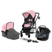 KinderKraft Juli Wózek Wielofunkcyjny 3w1 - Pink