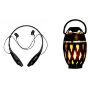 HBS 730 bluetooth headset and Flame bluetooth speaker K68 Neckband bluetooth headset   Stereo Music Earphone Bluetooth Headset with Mic
