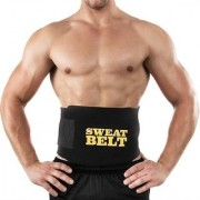 UNIQUE - Sweat Waist Trimmer Fat Burner Belly Tummy Waist Sweat Belt/Adjustable Sweat Belt/Premium Waist Trimmer For Men