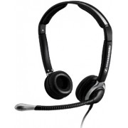 SENNHEISER CC 550 IP - Over the head, binaural, wideband headset w. extra large ear caps,- with ED