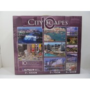 City Scapes Deluxe 10 Jigsaw Puzzles By Sure-lox