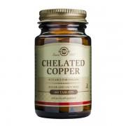 Chelated Copper (Cupru chelat) Solgar 100tb