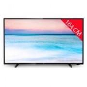 Philips TV LED 4K 164 cm PHILIPS 65PUS6504